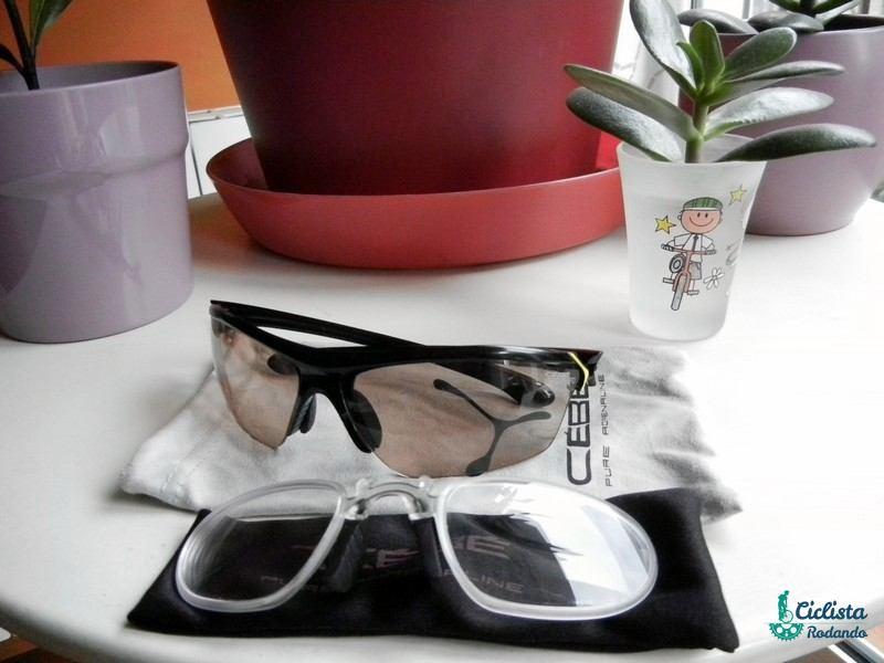 a12617f596 Gafas graduadas para ciclismo tipos - Lente, clip óptico y lentillas