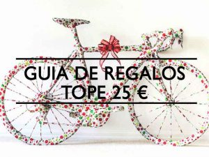 Guia de regalos Ciclistas tope 25 euros