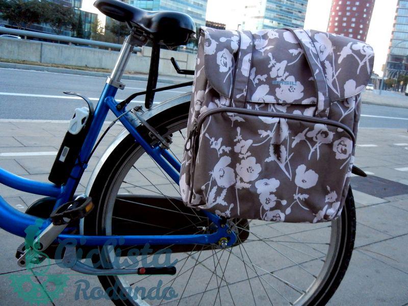 Alforjas para bicicleta mujer