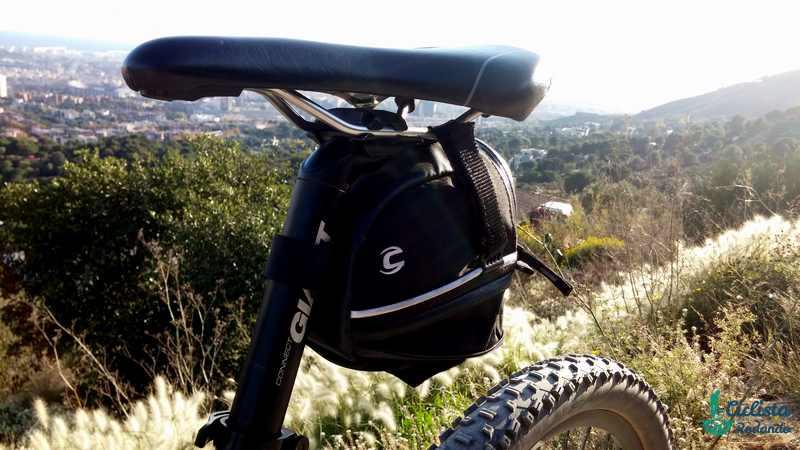 bolsa bicicleta herramientas Cannondale SPEEDSTER expandida