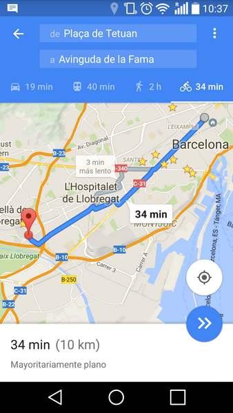 bici gps mapas