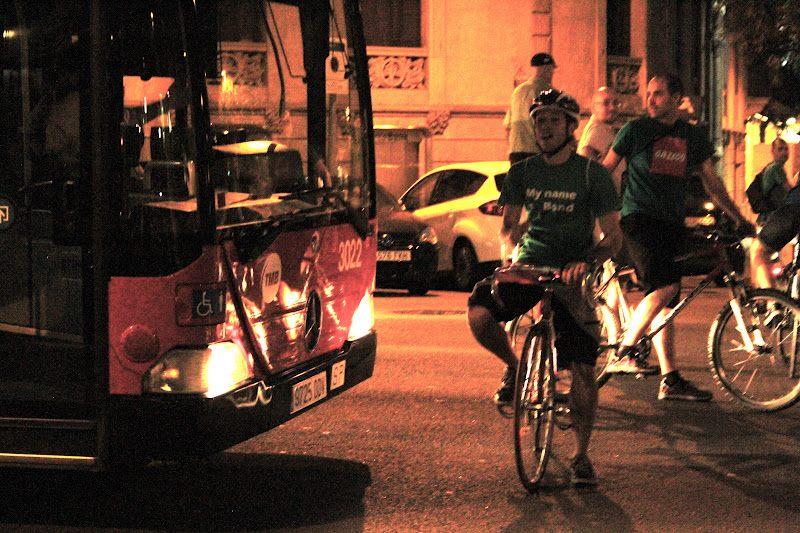 Masa Critica Barcelona Bus
