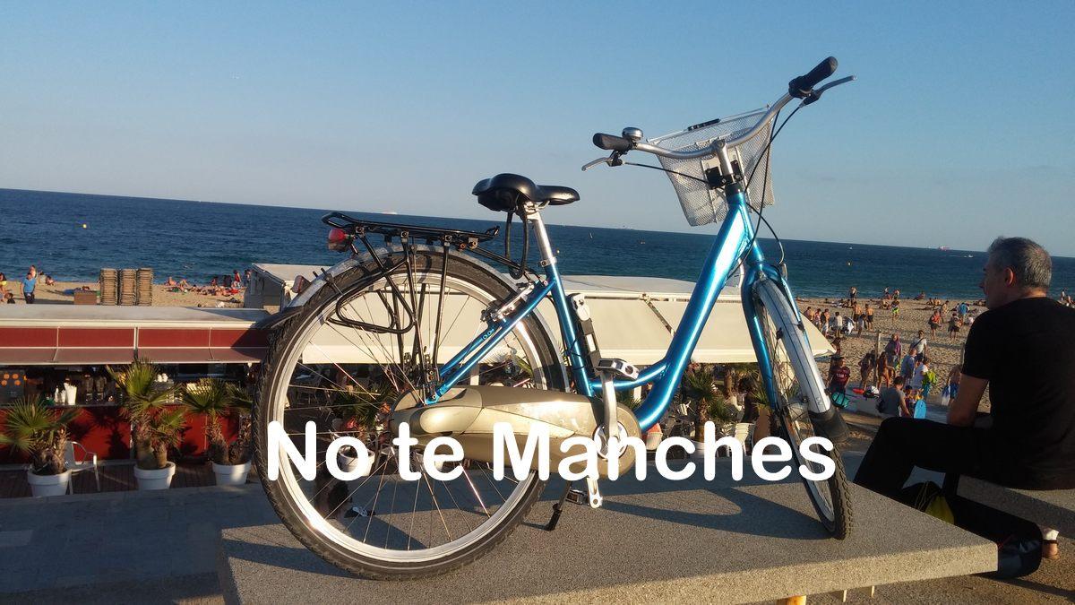 NO te maches en la bici