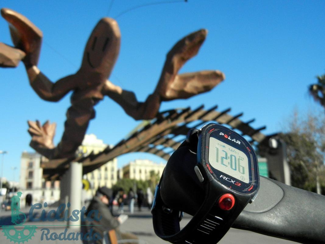 Reloj Polar RCX 3 Barcelona