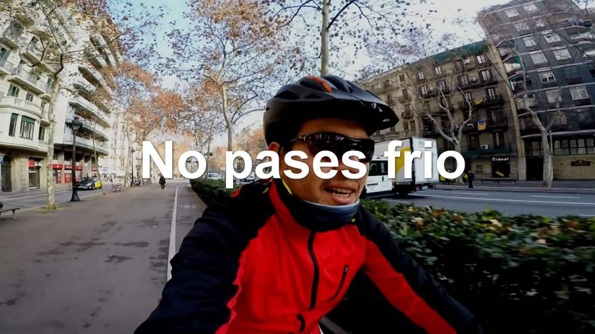 No pases frio en la bici