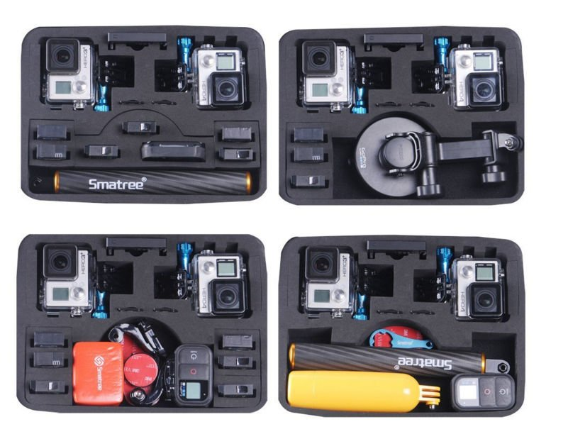 SmaCase maletin diferentes configuraciones