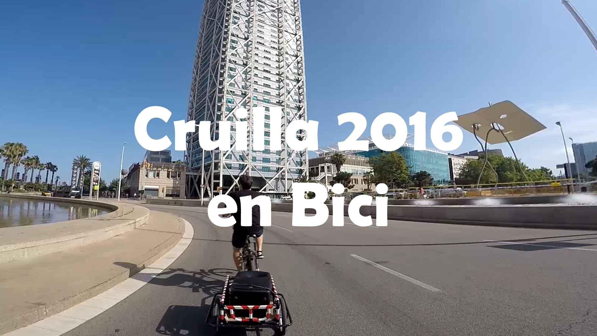 Cruilla 2016 en bicicleta