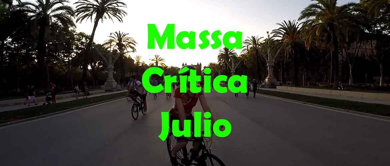 Massa Critica Barcelona Julio