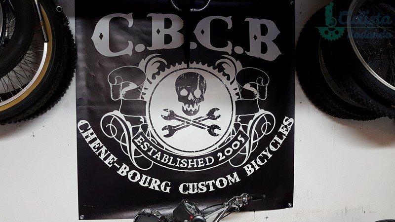 CBCB Le Chêne-Bourg Custom Bicycle  Logo