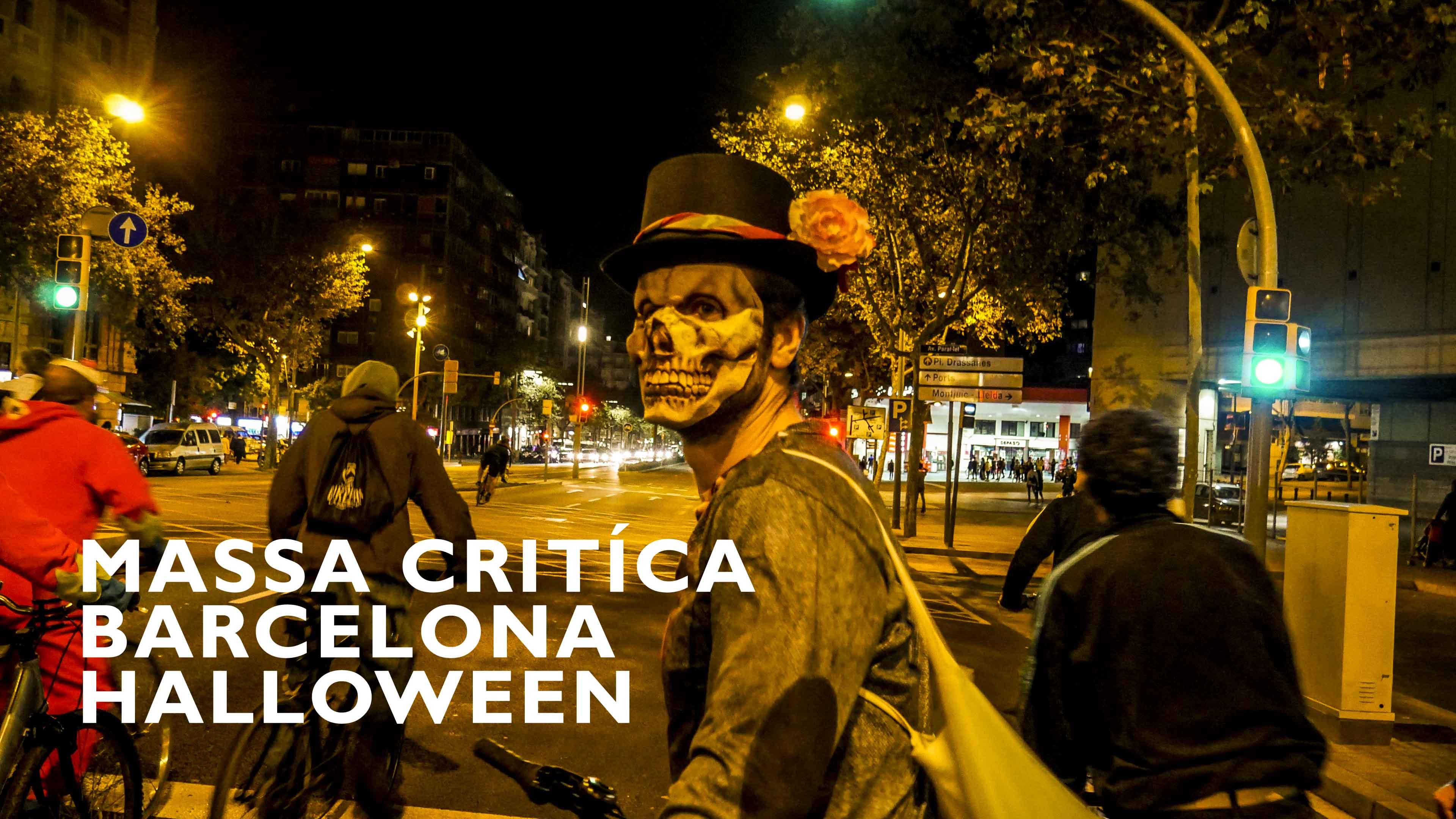 Massa Critíca Barcelona Halloween 2016