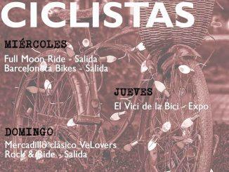 Planes Ciclistas en Barcelona Semana 50