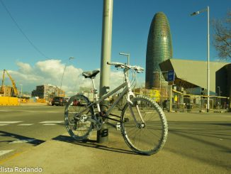 ghost bike barcelona
