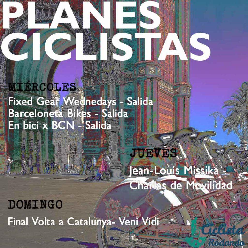 Planes Ciclistas en Barcelona 22032017