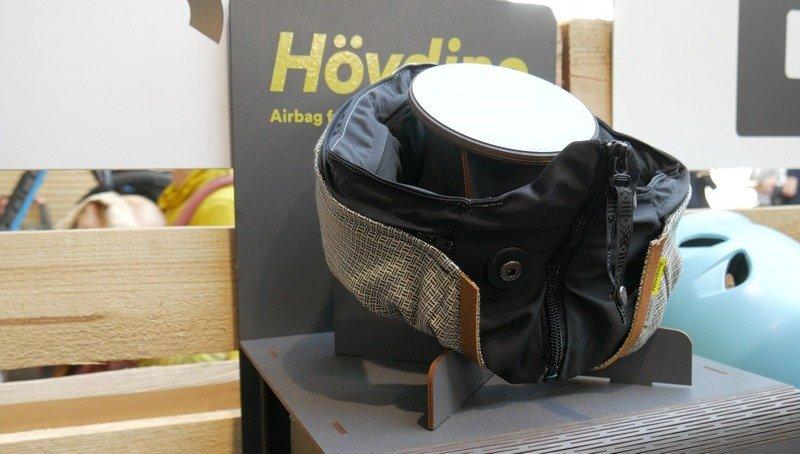 Hovding El casco bufanda con Airbag