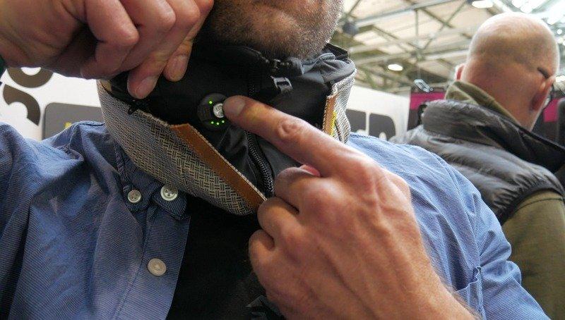 Hovding El casco bufanda con Airbag off on