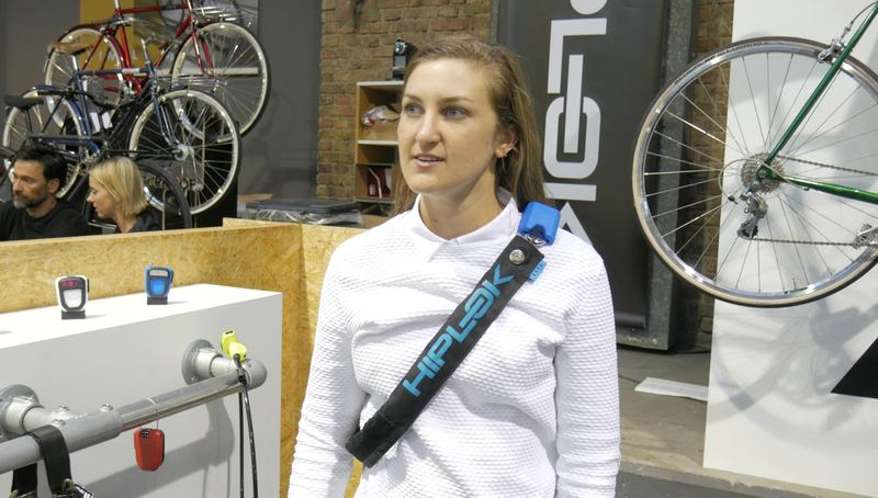 hiplok cadena bicicleta cintura cuello
