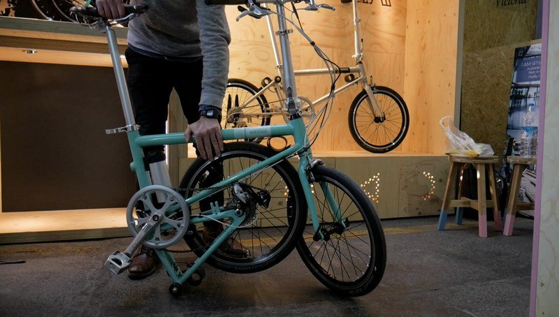 Bicicletas Ahooga Plegable y eléctrica plegada