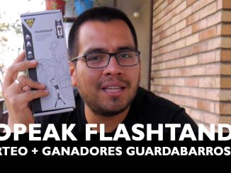 Sorteo internacional del Topeak FlashStand