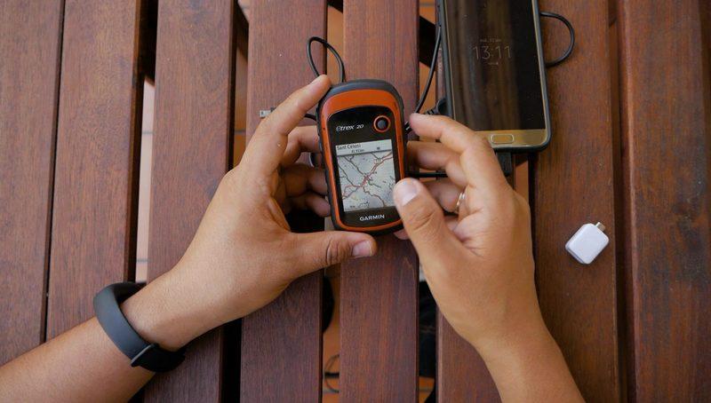 Transferir Track del móvil al GPS