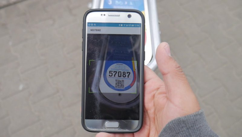 next bike app scan