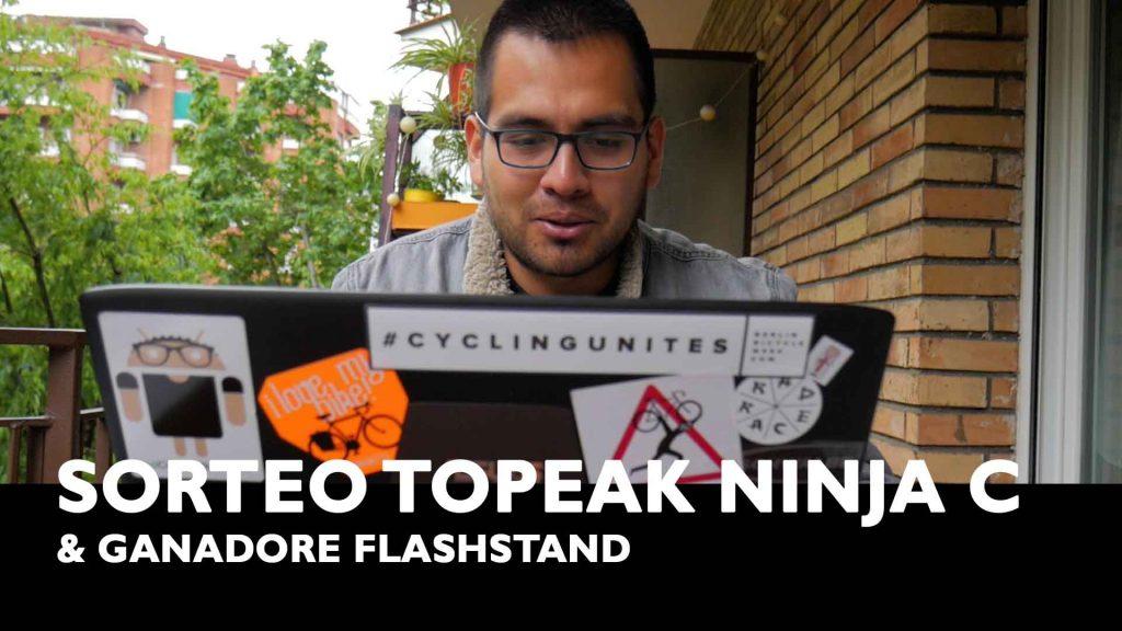 sorteo topeak ninja c