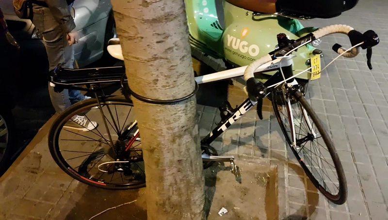 chorizo intenta robar una bici y es nuestra culpa