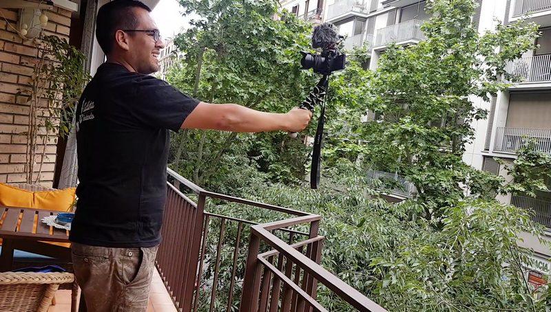 Gorillapod SLR-Zoom selfie