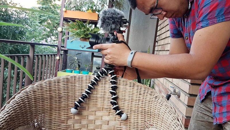 Gorillapod SLR-Zoom - Review - Trípode Cicloturismo