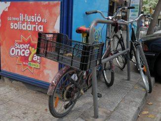 pedir aparcamiento de bicicletas