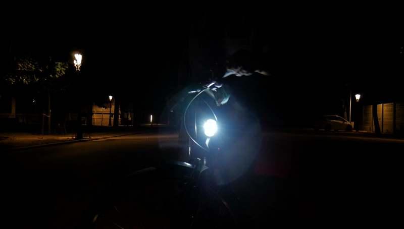 see sense luz delantera bicicleta