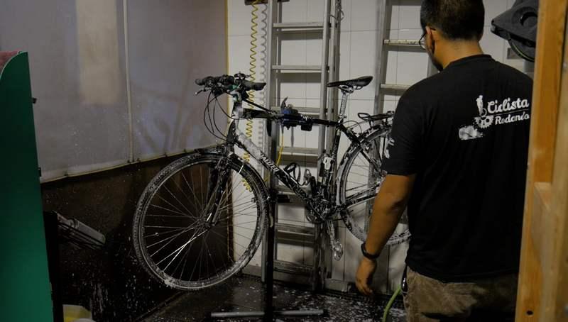 lavar mi bicicleta en Barcelona