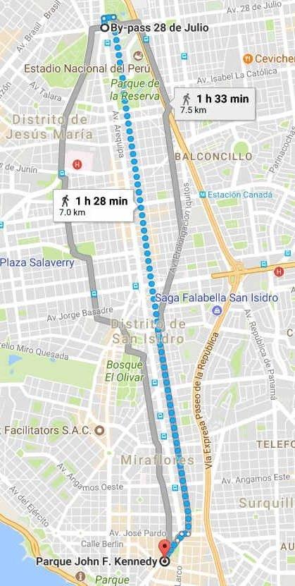 avenida arequipa cerrada domingos