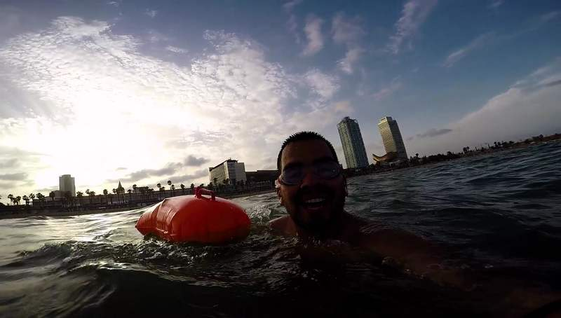 Boya de natación barcelona