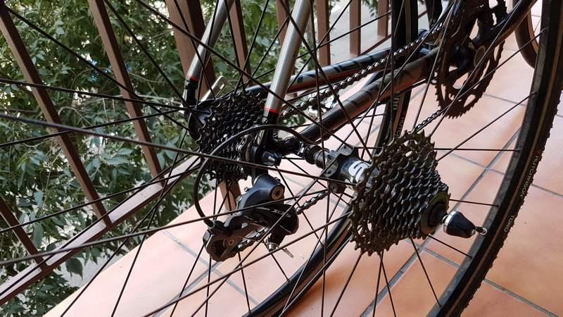 Convertir CIclocross en carretera 3
