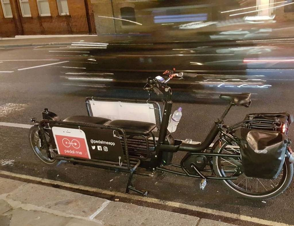 pedal me bicicletas al estilo uber