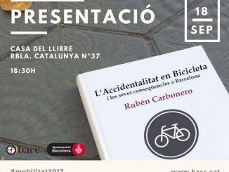 la accidentalidad en la bicicleta y las consecuencias en Barcelona