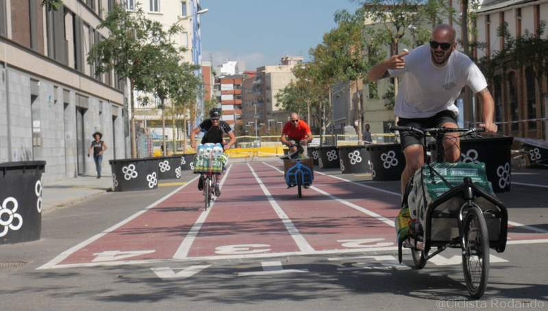 cargo bike race barcelona 2017