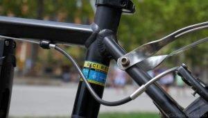 bicicleta tornilleria portaequipajes