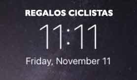 11 11 CICLISTA REGALOS