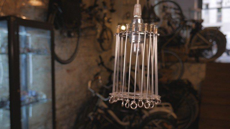regalos ciclistas lampara