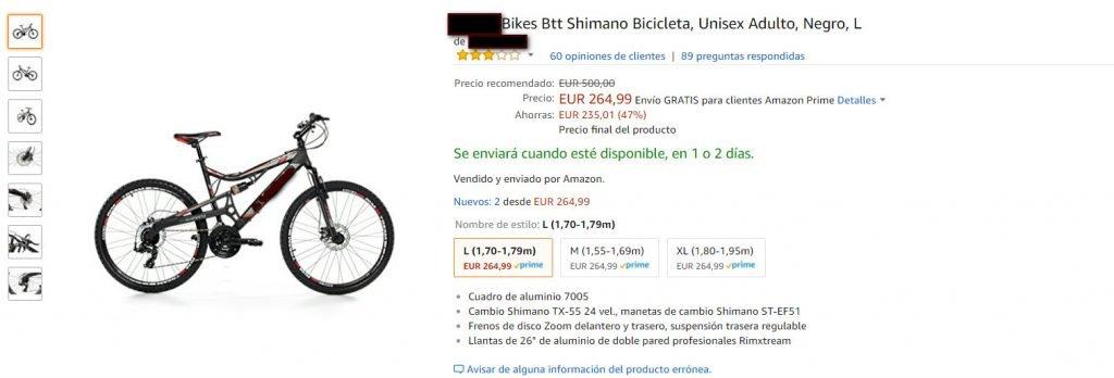 bicicletas de mierda baratas