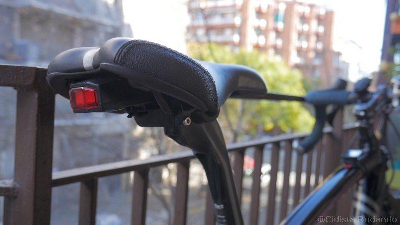 alarma bicicleta pequeña y potente
