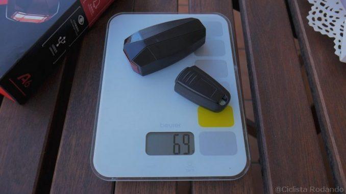 alarma de bicicleta peso