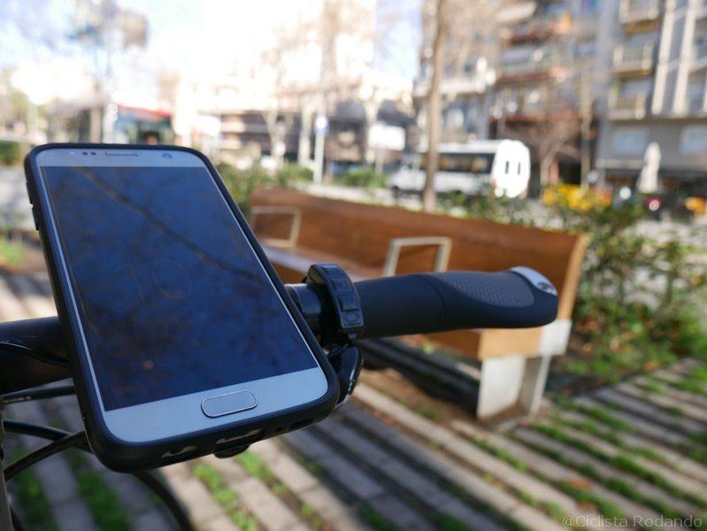 Samsung s7 bicicleta quad lock