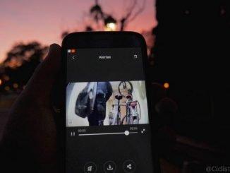proteger bicicleta con camara de video vigilancia
