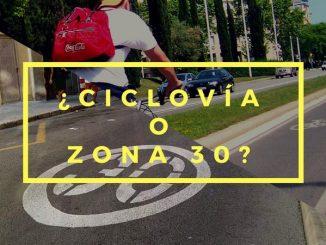 CICLOVIA O ZONA 30