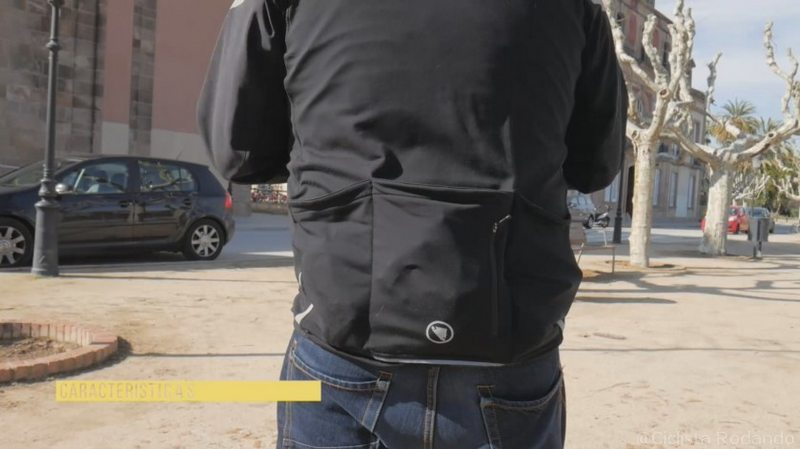bolsillos grandes chaqueta endura windchill