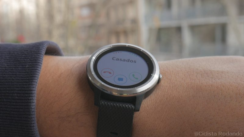 Garmin Vivo Active 3 llamadas
