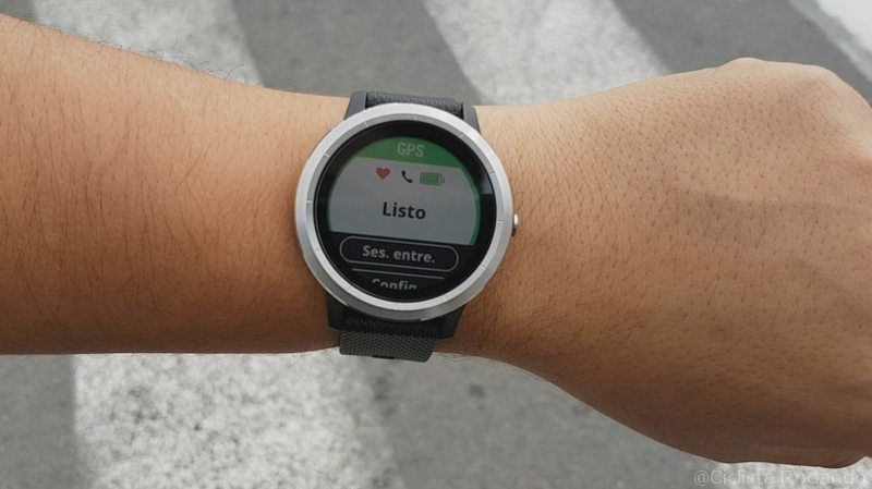 gps rapido garmin vivo active 3