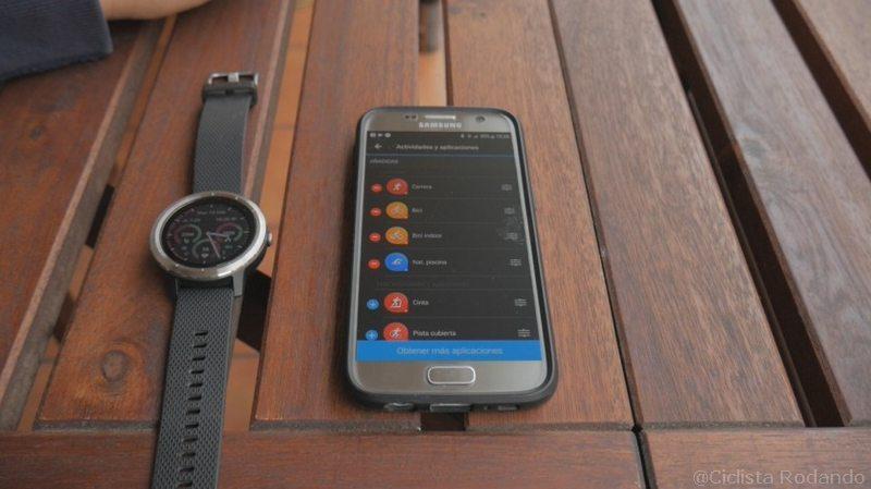 Garmin Vivo Active 3 personalizar